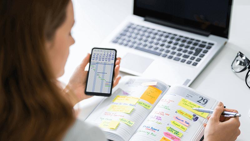 Kalendarz książkowy – korzyści dla biznesu